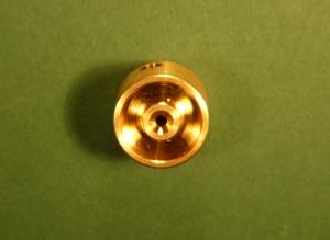 FW12-1 Brass Flywheel 12mm Dia - 1.5mm Shaft