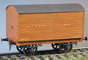 7C76 LCDR/SECR/SR Covered Carriage Truck