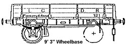 4F03 LCDR 3 Plank Open Wagon