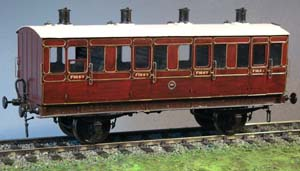 7C63 LBSCR Stroudley 4 Wheel First