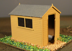 4B13 APEX ROOF GARDEN SHED