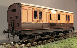 7mm model railway coach kits